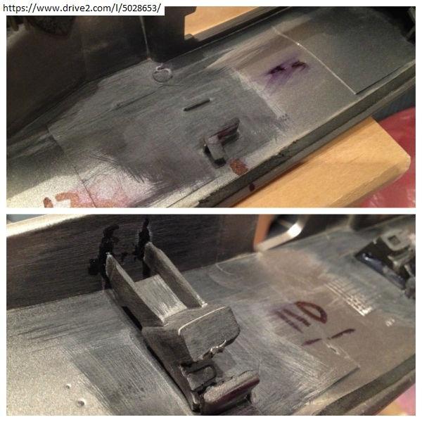 Ремонт накладки двери багажника Кашкай