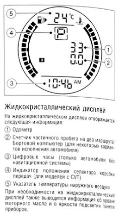 Указатель уровня топлива и температуры охлаждающей жидкости