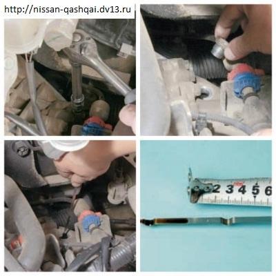 Замена масла в МКПП Кашкай
