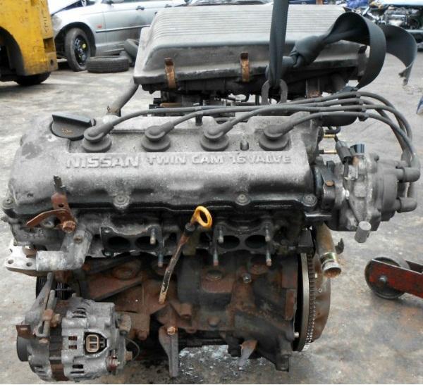 Nissan Almera N15 двигатель 1.4