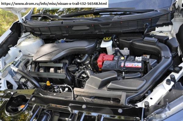 Мотор 2.0 под капотом X-Trail T32