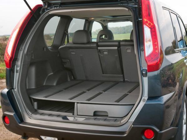 Nissan X-Trail T31 багажник
