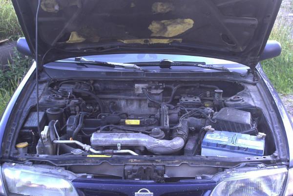 Альмера Н15 с дизелем под капотом