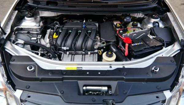 Под капотом Nissan Almera G15