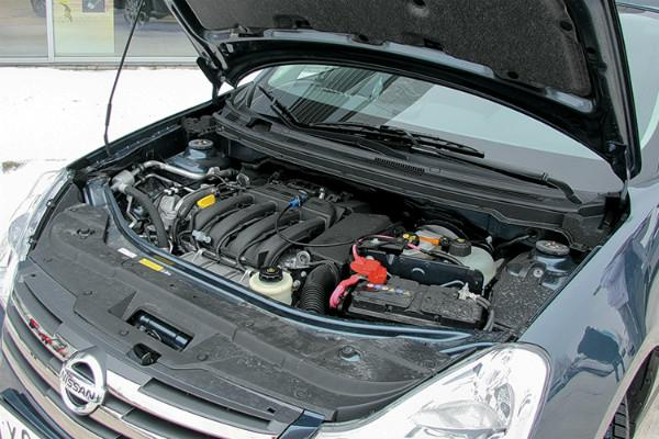 Nissan Almera G15 под капотом