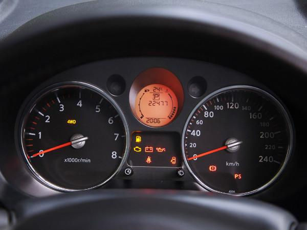 Nissan X-Trail T31 приборная панель