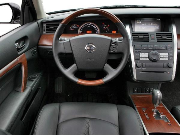 Nissan Teana j31 обзор с места водителя