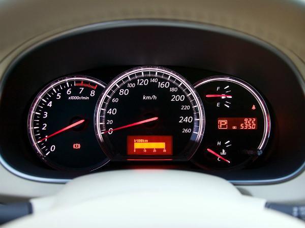 Nissan Teana j32 приборная панель