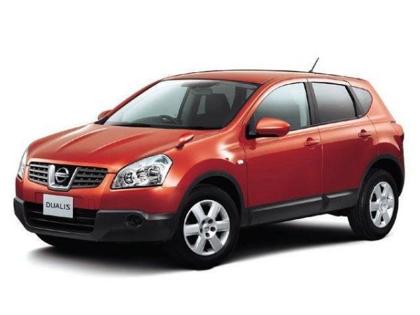 Nissan Dualis до обновления