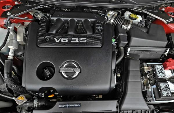 Под капотом Теаны с V6 3.5 VQ35DE
