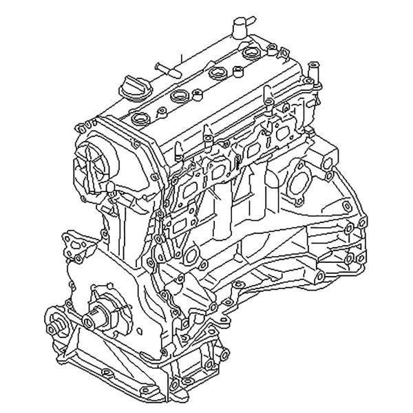 Схема QR25DE