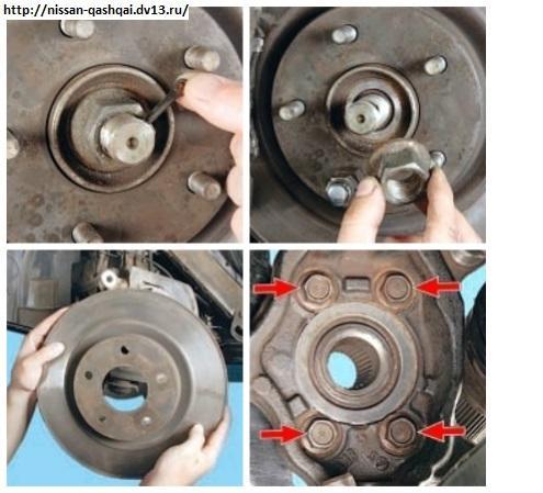 Замена ступицы переднего колеса