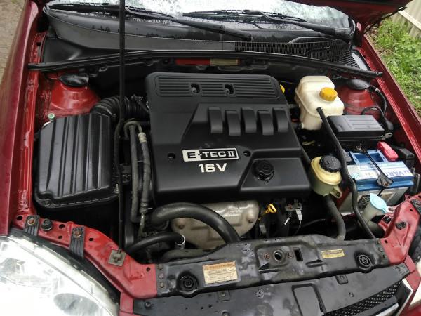 Chevrolet Lacetti под капотом