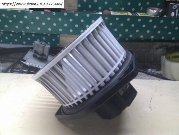 Вентилятор печки