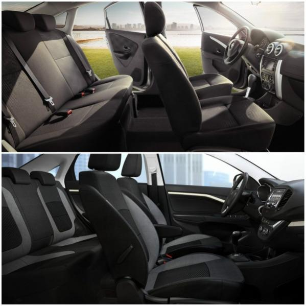Nissan Almera и Lada Vesta салон