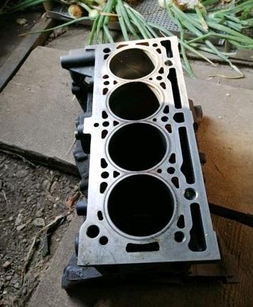 Блок цилиндров К4М