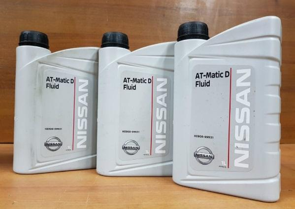 Трансмиссионное масло Nissan