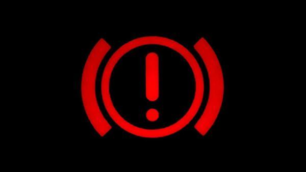 Индикатор неисправности тормозной системы