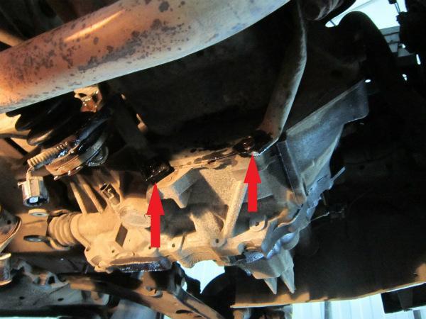 Болты кронштейна двигателя
