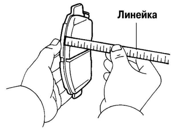 износ тормозных колодок Х-Трейл т32