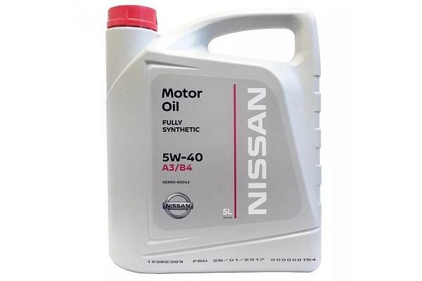 Моторное масло Nissan Original 5W-40