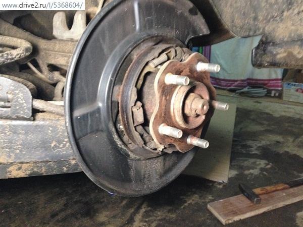 механизм стояночного тормоза Nissan X-Trail t31