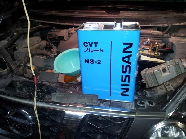 замена масла в вариаторе Ниссан Х-Трейл т31