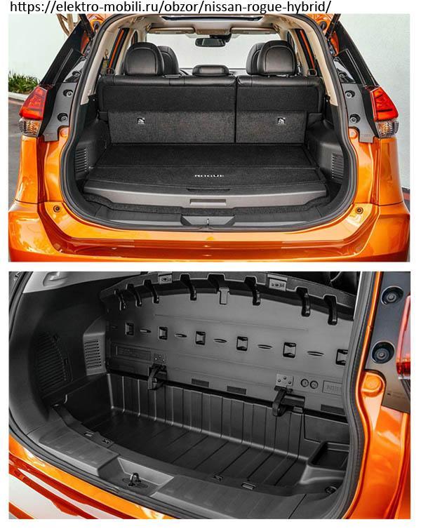 багажник Nissan X-Trail hybrid