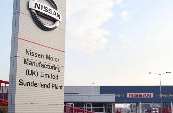 Завод Ниссан в Сандерленде