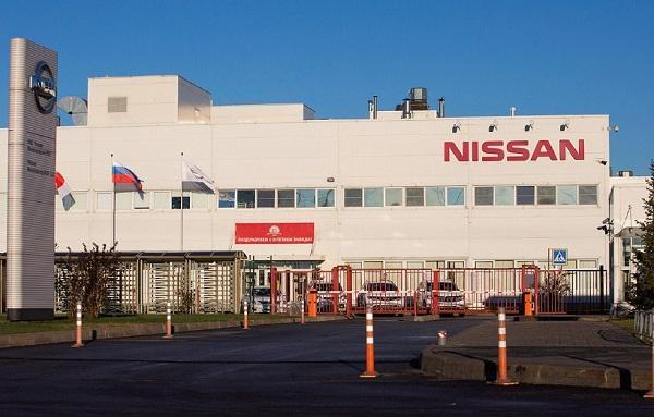 Завод Nissan в России