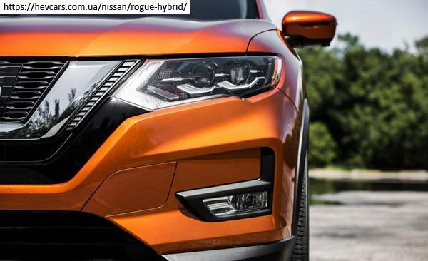фара и противотуманка Nissan X-Trail hybrid