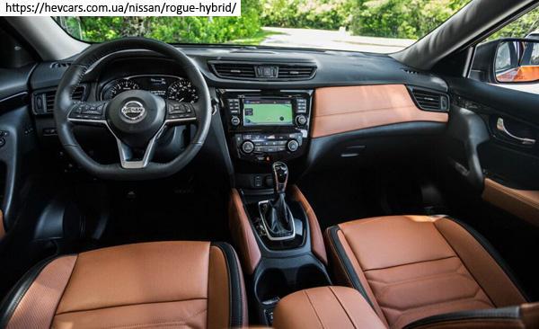 передняя панель Nissan X-Trail hybrid