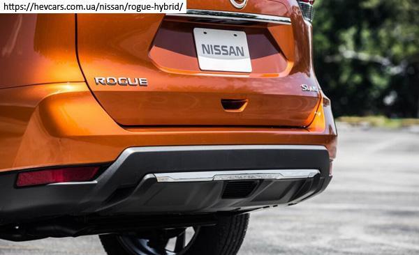 задний бампер Nissan X-Trail hybrid