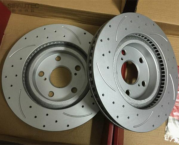 Оригинальные тормозные диски Nissan X-Trail Т31
