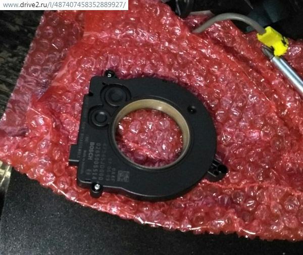 Установочное кольцо подрулевого шлейфа