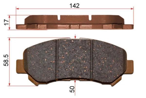износ тормозных колодок Ниссан Х-Трейл Т31