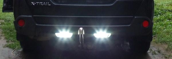 Замена лампы заднего хода Ниссан Х-Тейл т31