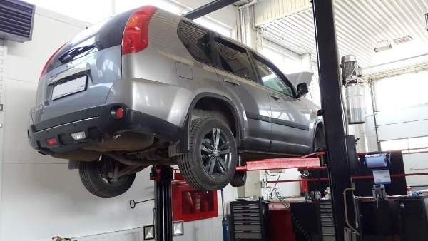 Замена втулок переднего стабилизатора Nissan X-Trail T31