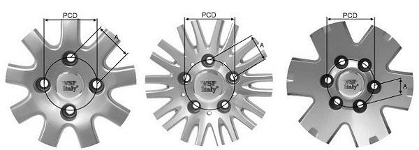 Разболтовка PCD