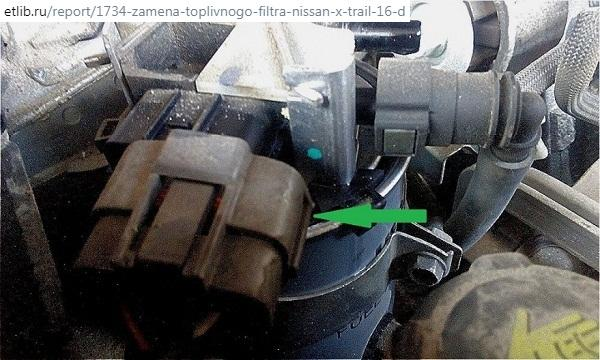замена дизельного фильтра Х-Трейл т32