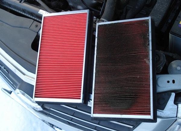 замена воздушного фильтра на Ниссан Х-Трейл