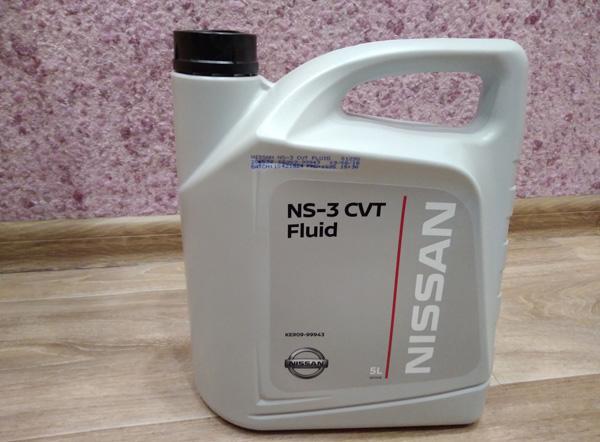 масло Nissan CVT NS-3