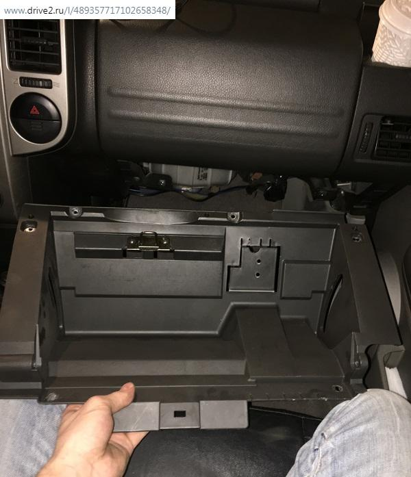подложка бардачка NissanX-Trailt30