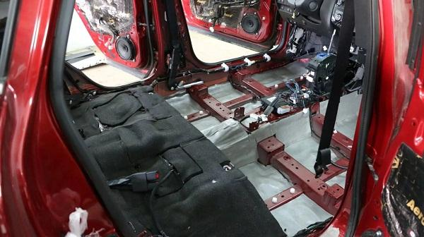 Звукоизоляция Nissan X-Trail T32
