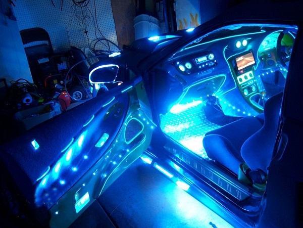подсветка на авто