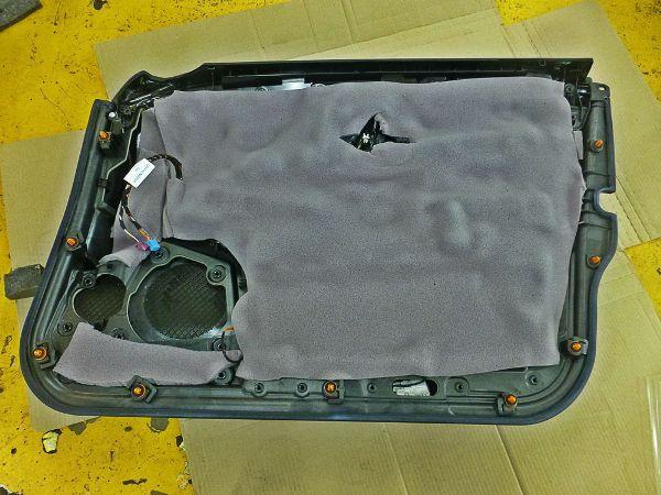 Звукоизоляция дверных карт Ниссан X-Trail T31