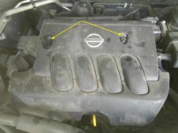 Меняем свечки на NissanX-Trailt31
