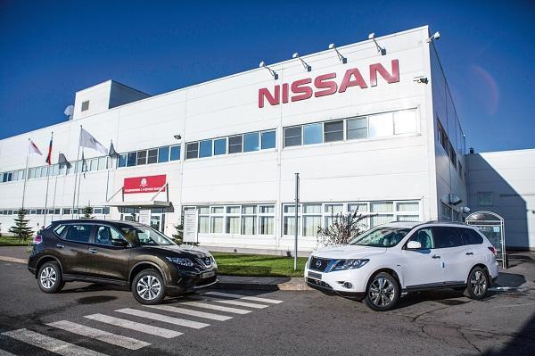Завод Nissan в Санкт-Петербурге