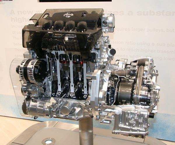 Мотор MR20DE с вариатором Jatco JF011E