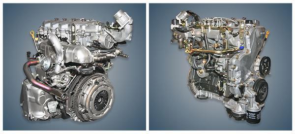 Дизельный двигатель Ниссан YD22DDti